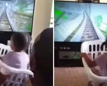 Little Girl Screams With Delight As She Rides A 'Rollercoaster' Created By Her Dad 2