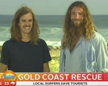 Surfers Rescue Tourist From Drowning, But The Interview Is The Best Part 5