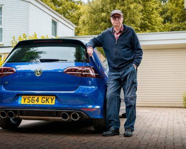 You Are Never Too Old For A Fast Hot Hatch: 75-Year-Old Brit Rocks 600 HP Golf R 6