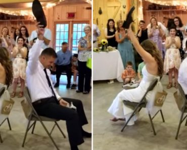 """This """"Shoe Game"""" Is One Game Every Couple Should Play On Their Wedding Day! 5"""