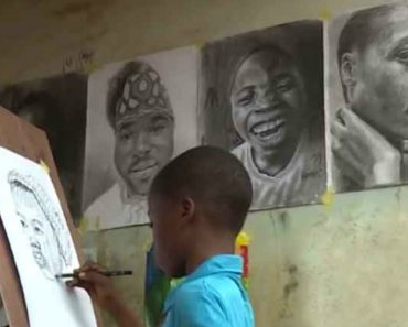 11 Year Old Paints Incredibly Life Like Works Of Art 3