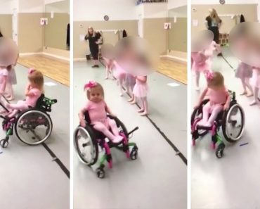 Disabled Girl Aces Ballet Class In Wheelchair 5