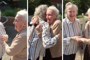Sisters With Alzheimer's Meet After 15 Years 12