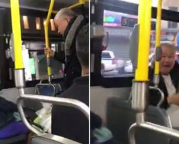 Old Man Goes On Rant After Elderly Woman Refuses To Give Up Seat 5
