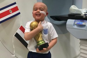 5-Year-Old With Brain Cancer Awarded Special World Cup Trophy for Bravery 10