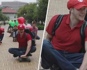 """7 Men Compete in Real-Life Game of """"Mario Kart"""" on Texas Streets 5"""