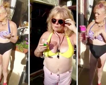 Hilarious Gran Acts Out Love Island Scenes 3