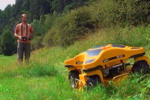 Remote Controlled Lawn Mower Makes Yard Work Fun Again 11