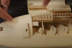 The Ultimate Paper Airplane Is An Absurdly Detailed Boeing 777 10