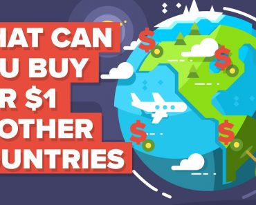 What a Dollar ($1) Gets You Around the World 6