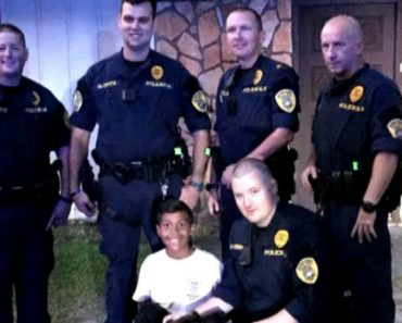 K9 Officer Shares Emotional Prayer with 9-Year-Old Boy Before His Brain Surgery 7