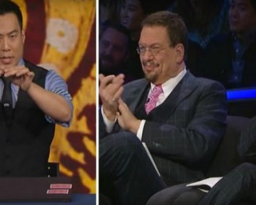 """Modern-Day Samurai Fools Penn & Teller With """"Impossible"""" Coin Trick 4"""