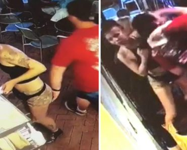 21-Year-Old Georgia Waitress Takes Down Customer Who Groped Her 1