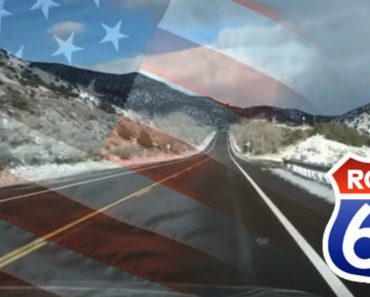 Rumble Strips On The Side Of The Highway Plays Most Patriotic Song Ever 2
