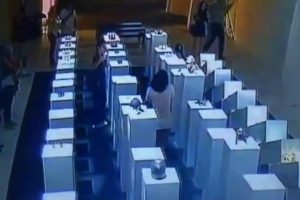 Woman Destroys $200,000 Of Art When Her Selfie Goes Wrong 12