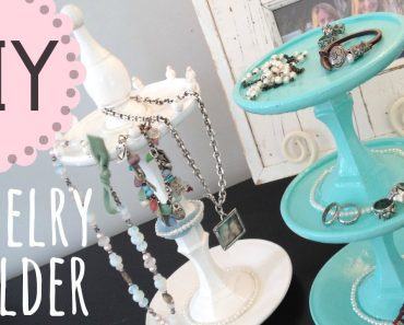Learn An Incredible Way To Create a DIY Jewelry Stand 2