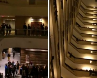 Hundreds Of Students Left Their Rooms Late At Night To Do Something Breathtaking 1