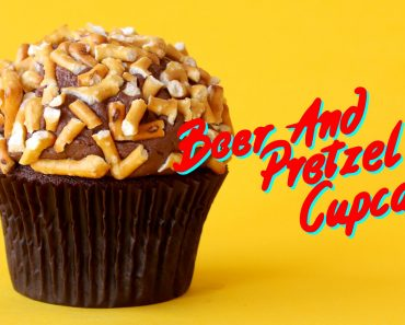 Beer And Pretzel Chocolate Cupcakes Is The Grown-Up Dessert Of Your Dreams 5