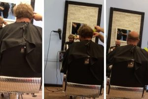 Bald Man Pranks Barber By Wearing a £2 Hair-piece 11