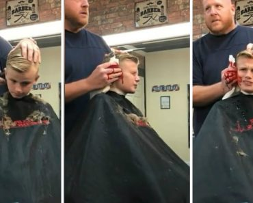 Barber Gets Hilarious Payback On Kid Who Pranked Him 7
