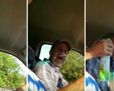 Dad Reacts Hilariously To Fart Spray Prank 5