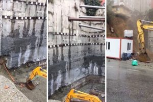Building Collapses On Bulldozer In Istanbul 12