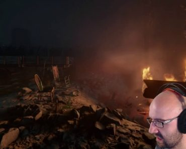 Streaming Dad Gets Frightened By Daughter While Playing Horror Game 3