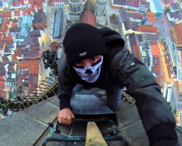 Terrifying Climb Up The Old Spire Of The World's Tallest Church 4