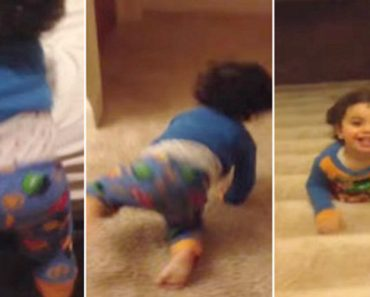 Toddler Has The Greatest Bed Time Escape Of All Time! 6
