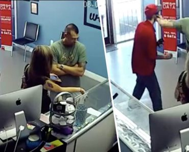 Angry Boyfriend Punches Stranger In A Store For Staring At His Girlfriend's Bottom 4