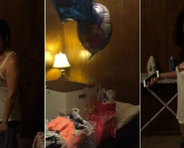 Man Gives Cheating Girlfriend a Birthday Surprise, All Her Belongings 6