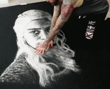 This Portrait Of Daenerys Targaryen Is Salty. Literally. It's Made Of Salt 7